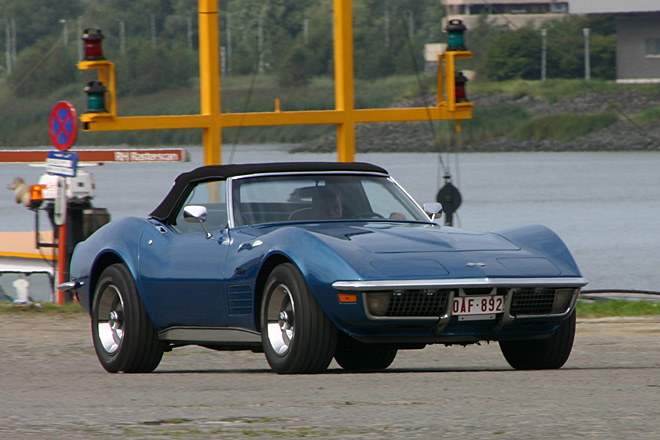1970-1972 Chevrolet Corvette Convertible - American Power On Wheels - august 21-22th 2004, Kaaien Antrwerpen
