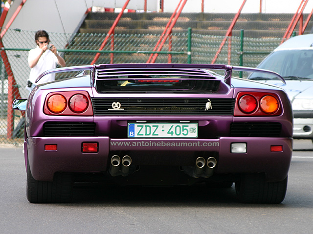 Lamborgini Diable 30th Anniversary - Spa Italia - may 28-29th 2005, Spa-Francorchamps
