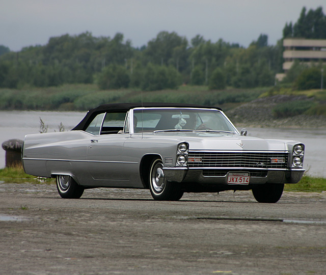 1967 Cadillac DeVille Convertible - Day 1 - august 20th 2005, Kaaien Antwerpen
