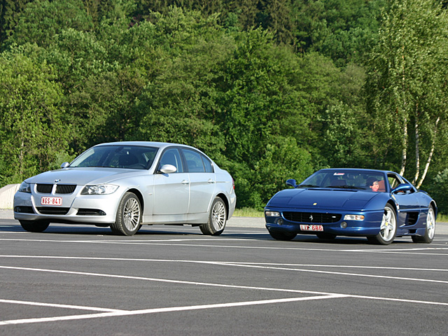 BMW 320d & Ferrari F355 berlinetta - Spa Italia - june 18-19th 2006, Spa-Francorchamps