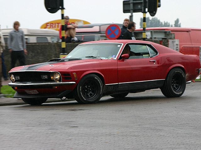 1970 Ford Mustang Mach 1 - Day 1 - august 26th 2006, Kaaien Antwerpen