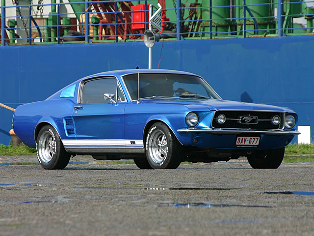 1967 Ford Mustang GT Fastback - Day 2 - august 27th 2006, Kaaien Antwerpen