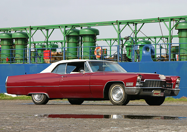1968 Cadillac DeVille Convertible - Day 2 - august 27th 2006, Kaaien Antwerpen