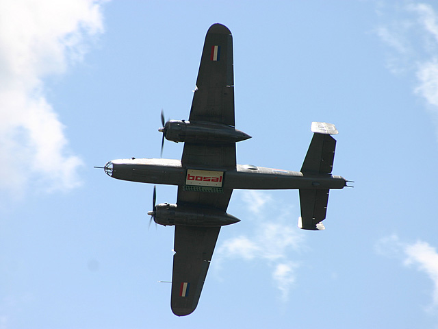 B-25 Mitchell - Sanicole Airshow 2007 - july 22th 2007, Aeroclub Sanicole Leopoldsburg