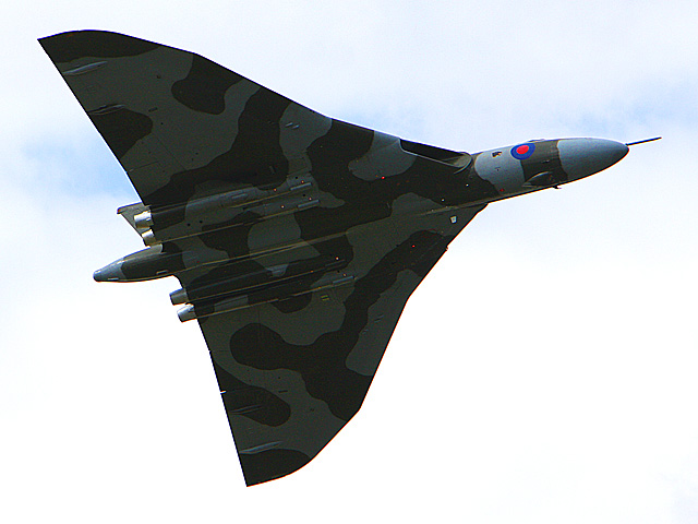 Avro Vulcan B-2 - International Airshow - july 20th 2008, Farnborough airbase