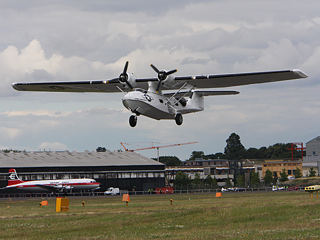 Consolidated PBY Catalina - International Airshow - july 20th 2008, Farnborough airbase