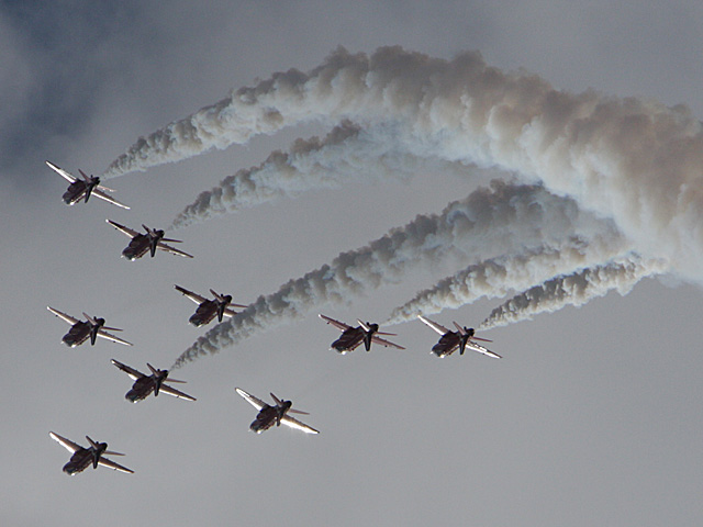 BAE Systems Hawk T-1 jets from the