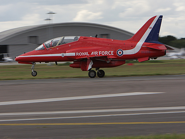 BAE Systems Hawk T-1 jet from the