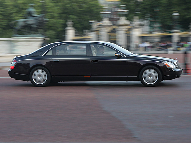 Maybach 62 - l'Avant-salon - july 21th 2008, London
