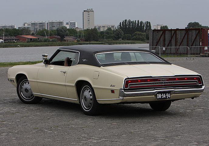 1970 Ford Thunderbird Two-Door Hardtop - Day 2 - august 24th 2008, Kaaien Antwerpen